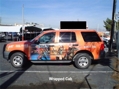 Wrapped Cab